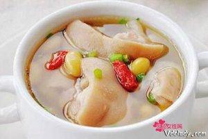 教你煲出美味猪脚汤   简单做法美味养颜