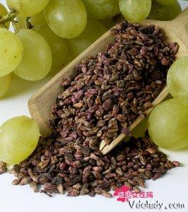 葡萄籽的功效和作用    美容功效还增强免疫力