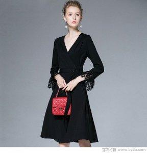 冬季也能穿裙子 选保暖的款式就OK了!