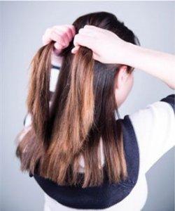 淑女发型怎么扎 扎淑女发型的步骤
