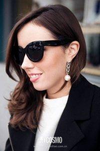 柔美珍珠和帅气金属结合在一起 别有一番风味!