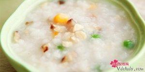 清淡食物香菇滑鸡粥的做法  自己的肠胃好好休息