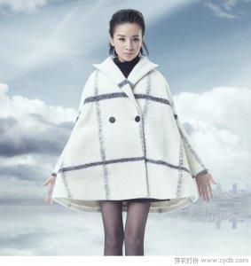 经典格纹成为冬季的时尚妖精 规规矩矩却看点多多!