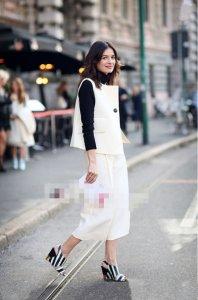 玩转欧美时尚街拍 优雅大方女神范