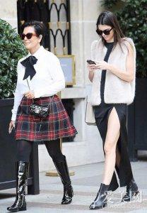 好莱坞明星母女档 时尚界超模大盘点