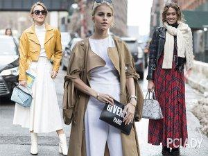 听说阔腿裤又开始流行了 纽约街头的时尚妖精都在穿!