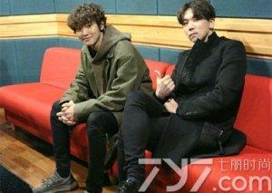 EXO灿烈和郑基高合作新曲《let me love you》画面很暖!