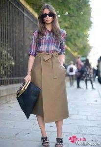 帅气又时尚的衬衣+裙装,打造百变时髦的你
