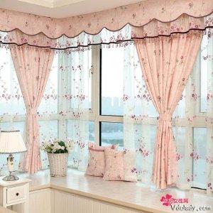 甜美盛夏进行时,清新窗帘装扮梦幻空间
