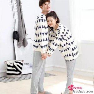 和老公一起买情侣睡衣,因为遇见你,是我此生最幸运的事