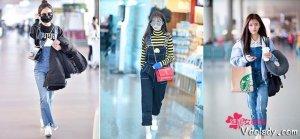 赵丽颖鞠婧�t等明星玩起减龄背带裙,谁才是卖萌实力派呢?