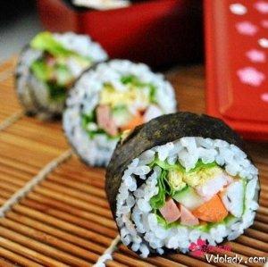 十分钟变身美食达人,在家自制日本寿司,征服老公孩子的胃