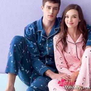 高颜值情侣家居服,在心爱的人面前,不仅要穿的舒适也要美美的