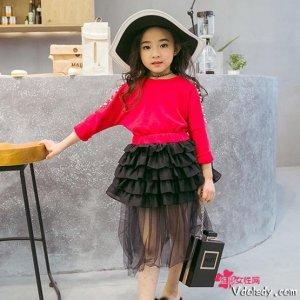 小萝莉的时尚感,连衣裙来培养,妈妈再也不用烦恼了
