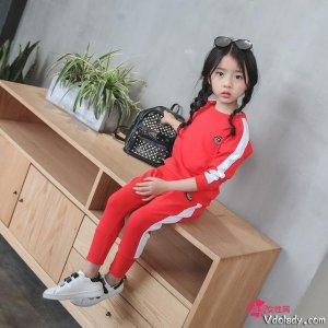 女儿学校开运动会了,我买了第4套,同学老师夸女儿是小潮妞
