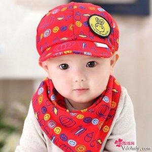 萌萌哒男童遮阳帽,成为宝贝们头上的风景线