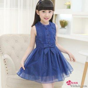 唯美的连衣裙,圆宝贝一个公主梦,让她做时尚的代言人