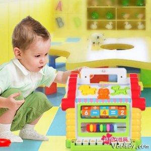 0-1岁婴幼儿早教益智玩具
