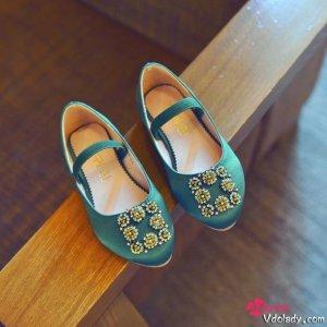 """女儿的""""公主梦""""就从公主鞋开始吧,让小公主""""脚下生花"""""""