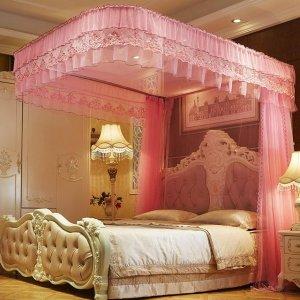 梦幻的宫廷蚊帐实用又美观,让你在夏夜做一个温馨浪漫的香甜美梦