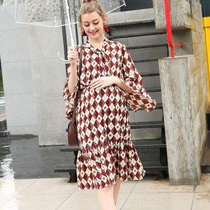 春季最流行这几款孕妇连衣裙,时髦不显怀,让你怀孕也可以很美