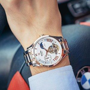 你还以为手表只是用来看时间的?那是男人财富地位的象征