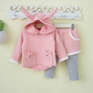 春季搭配好烧脑,时尚可爱女童套装,一套轻松搞定宝宝一身