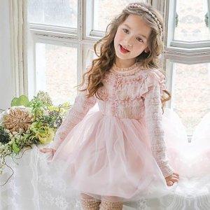 春季给宝贝穿上蕾丝公主裙,甜美可爱,大家都羡慕我生了个女儿