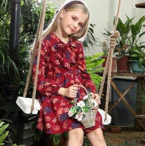 春季新款女童碎花连衣裙,款款上眼,最低30元起