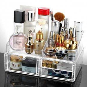 化妆品乱糟糟?那你需要一款化妆品收纳盒,实用又美观