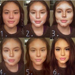 """如何通过化妆""""瘦脸""""  瓷妆彩妆顾问有妙招"""