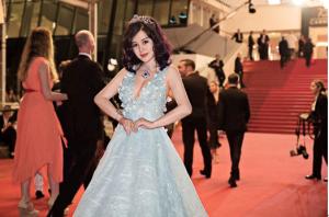 于文红会长受百年珠宝品牌之邀出席戛纳国际电影节
