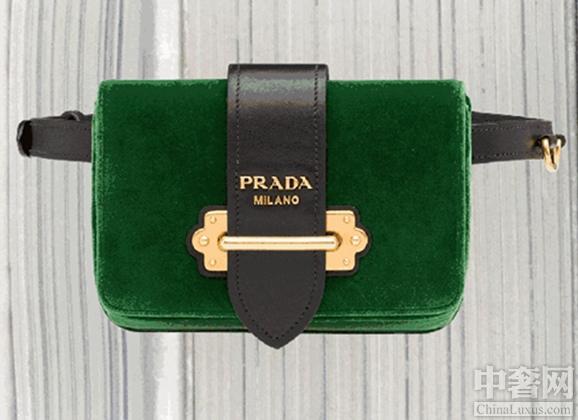 Prada Cahier手袋系列 时尚达人的宠儿