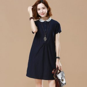 夏日暖阳,穿上吸晴的连衣裙,是亮丽的一道风景线