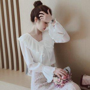 雪纺衫也能穿出国际感,就看你怎么穿
