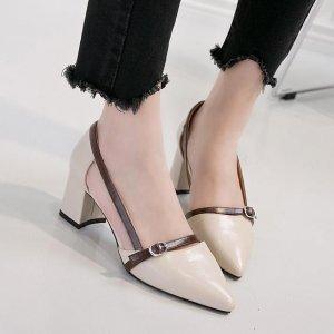 平底鞋、细跟鞋都OUT啦,今年最火的是――欧美风复古方跟单鞋