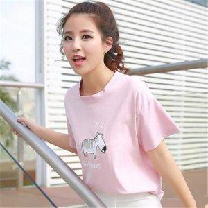 可爱的动物卡通图案T恤 带你回忆美丽的少女时代