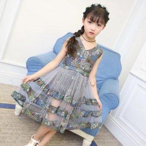 想让宝贝拥有童话般梦幻的公主气场,那就让一件公主裙满足你吧