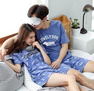 情侣睡衣爱简约之意,享浪漫舒适,穿时尚之巅