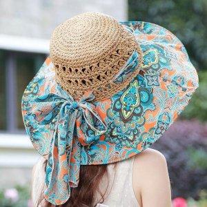 镂空遮阳可折叠凉帽,大气优雅,非常适合各种风格的美眉