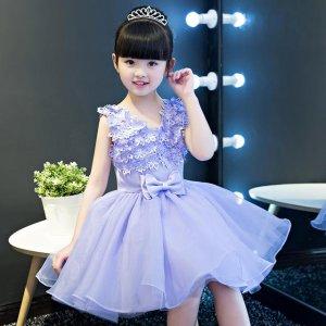 最美的女童礼服裙,出席任何场合都是一道风景线