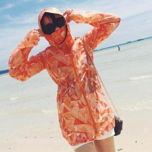 新款中长款防晒服,专为风一般的女子定制