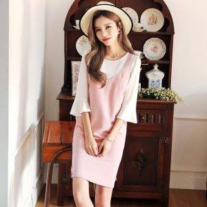 清纯甜美的韩都衣舍连衣裙,带给你春季的青春与活力