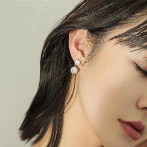 长相普通的你,一款耳钉提亮妆容10倍