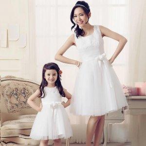 好想马上有个女儿,穿上仙女风的母女裙,像姐妹花一样惊艳全场