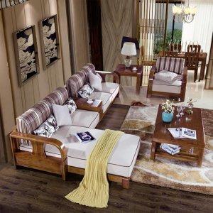 美美的沙发美美的家,进口实木打造它,618有大让利哦