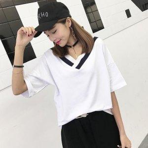 时尚少女短袖T恤,青春活力,带你回到学生时代~