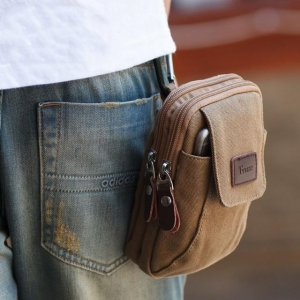 男人手机不要放裤兜,现在流行多功能腰包,好用便携还不贵
