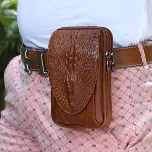 腰包丨男人出门手机不是只能放裤袋,换一种方式同样时髦又有型