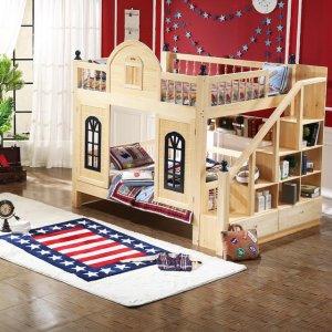 一张安全又梦幻的母子床,给孩子一个健康又快乐的童年